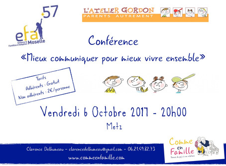 Conférence EFA57 Metz