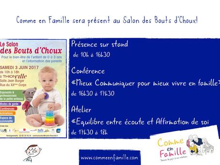 Salon Bouts d'Choux 3 Juin 2017 Thionville