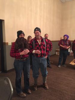Best dressed Lumberjacks!