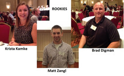 Rookies at the Fall Conference