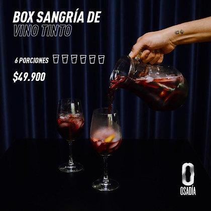 Box Sangría vino tinto