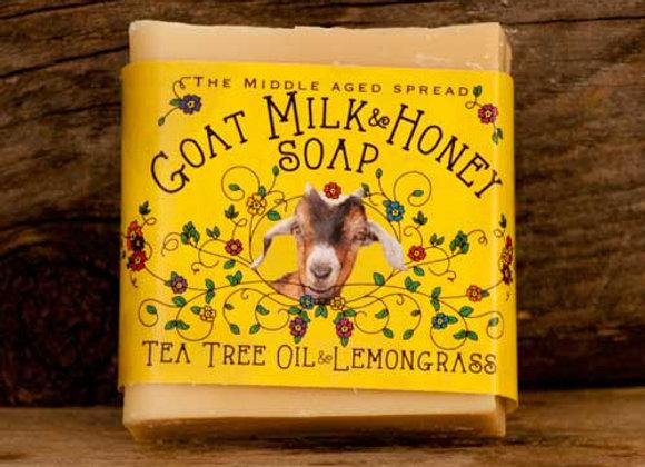 Tea Tree Oil and Lemongrass