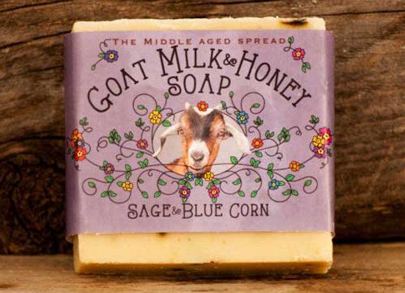 Sage & Blue Corn