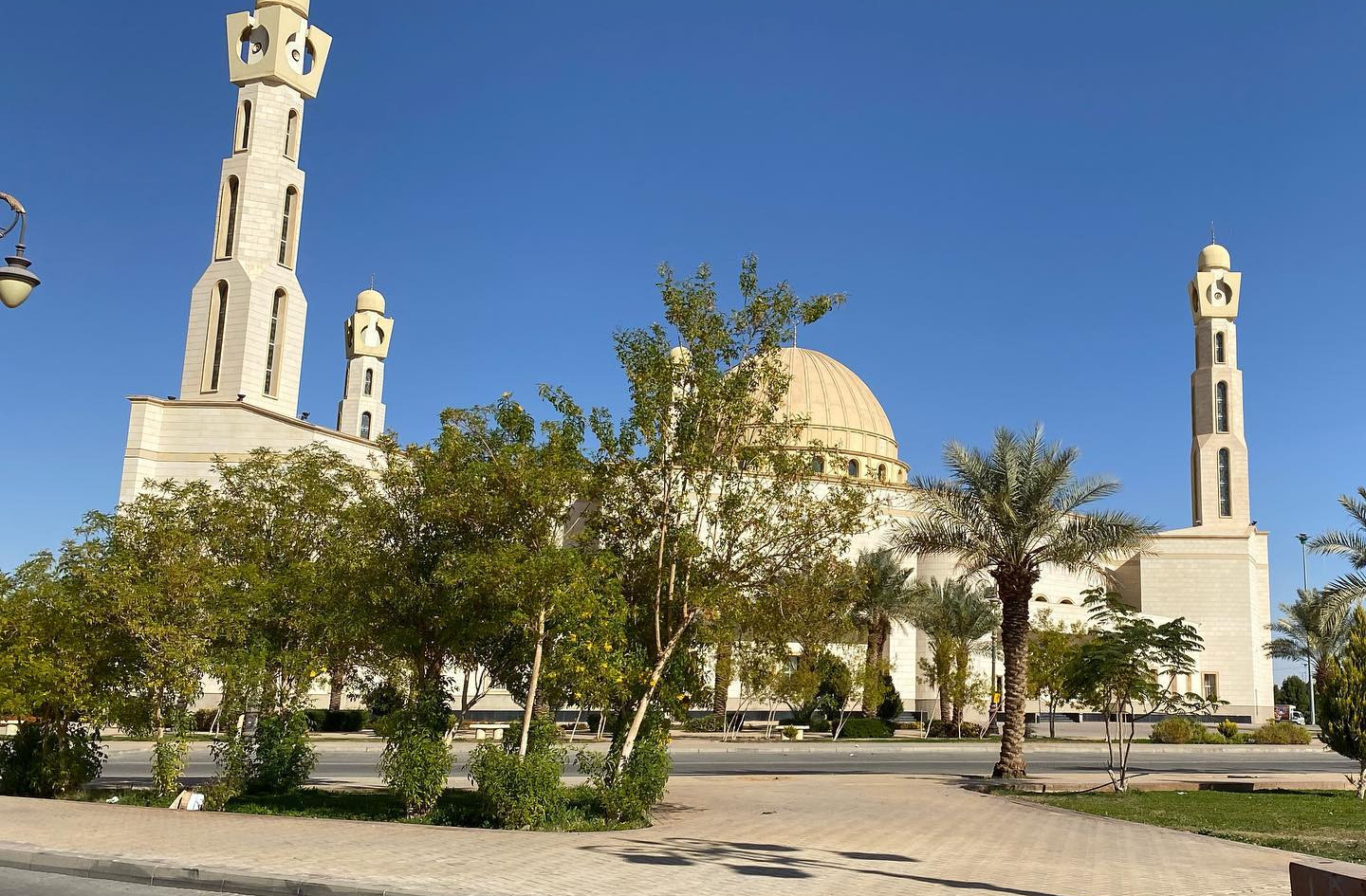 "Walidain Mosque, Tabuk. ""The Parents Mosque."""