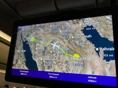 Drove from Dammam to Riyadh