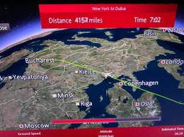 Flying over Norway, Denmark, Poland, Ukraine, and Romania. .