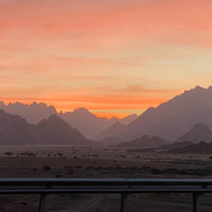 Sunrise, Tabuk/Sharma Highway.