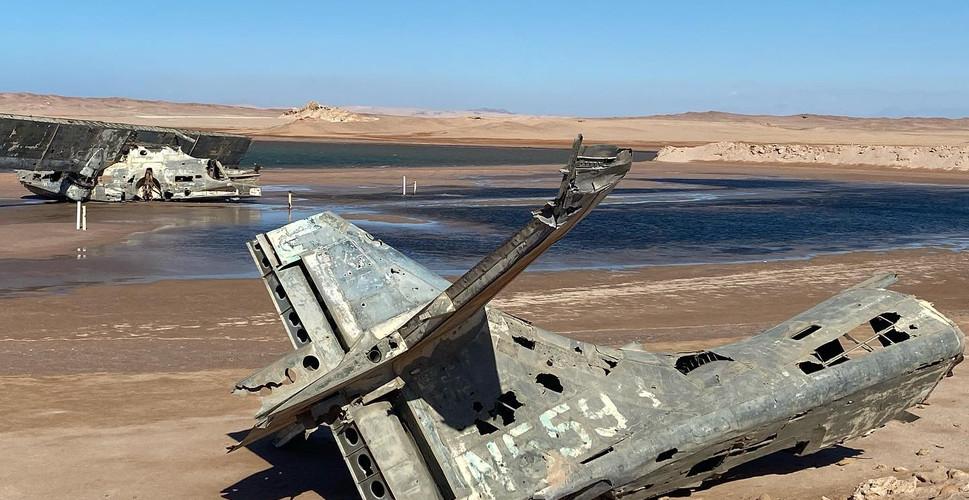Catalina Seaplane Wreck.