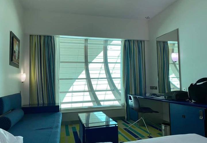 Dubai International Hotel. View from my room.