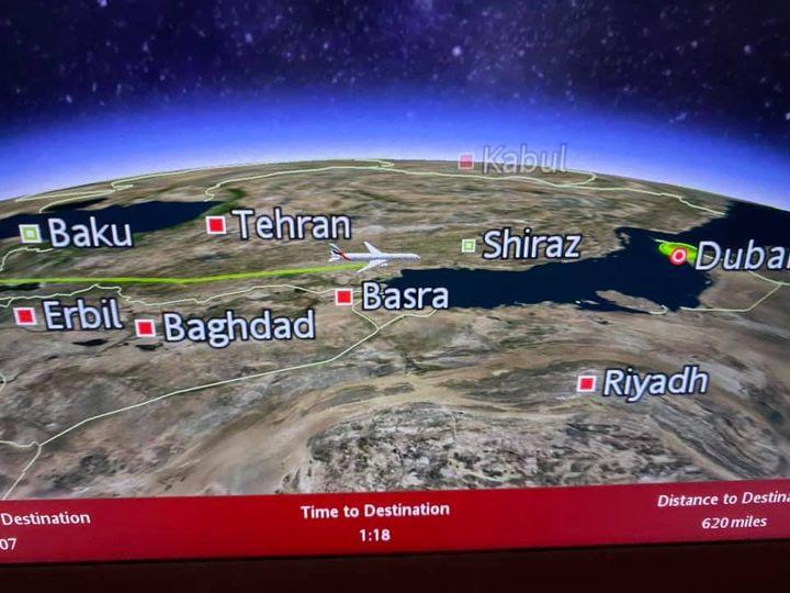Along the Iraq/Iran border.