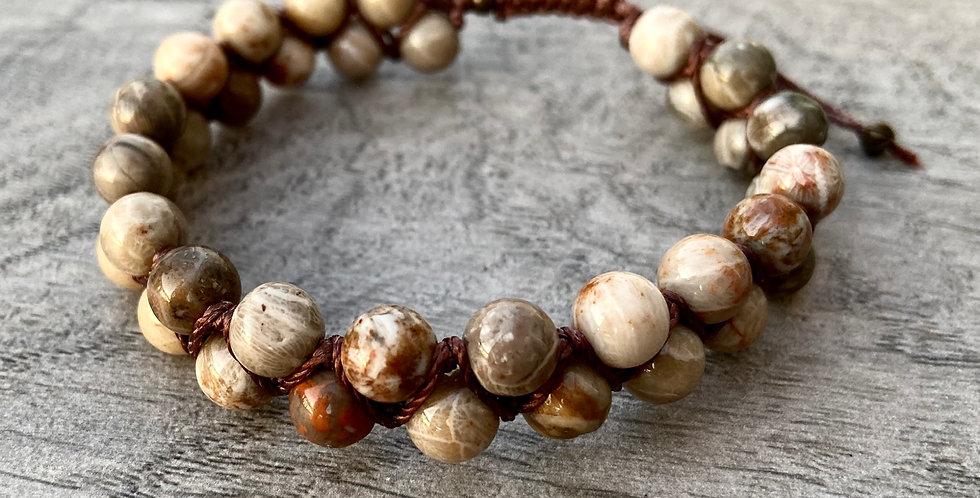 Men's Fossil Shamballa Bracelet