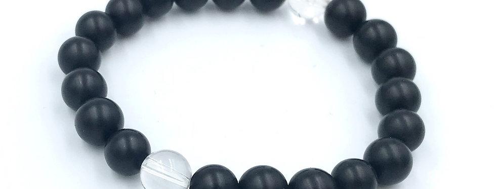 Yin & Yang Yogi Stack Bracelet
