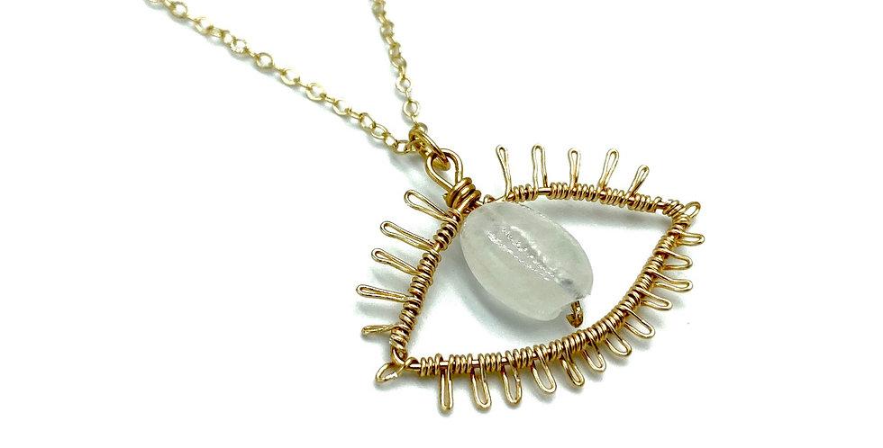 Mind's Eye Pendant Necklace