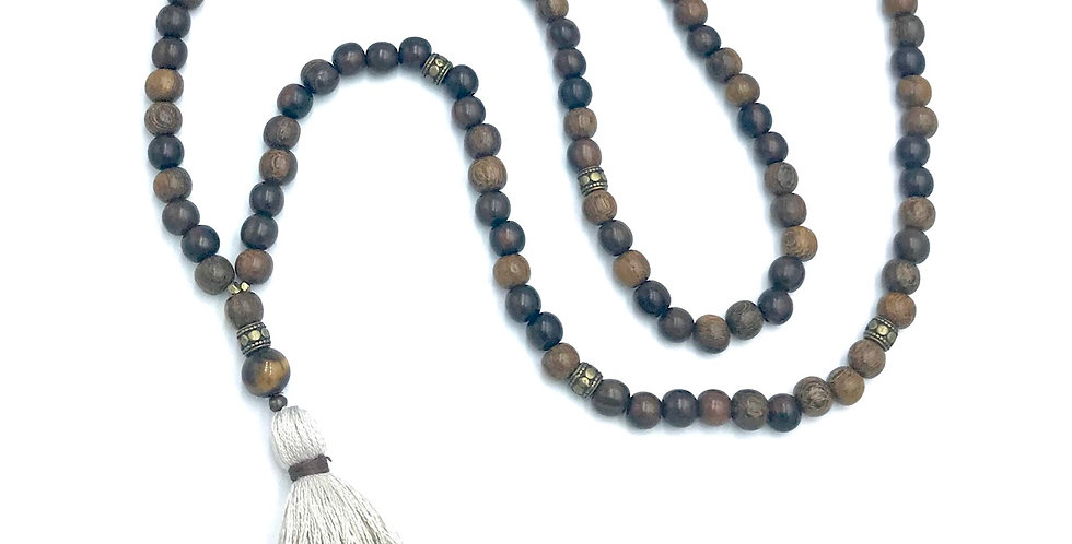 Roble Wood 108 Mala
