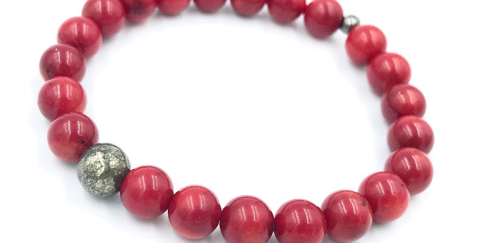 Agni Men's Yogi Stack Bracelet