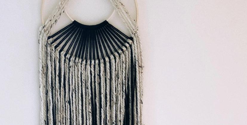 Woven Wool Dream Catcher