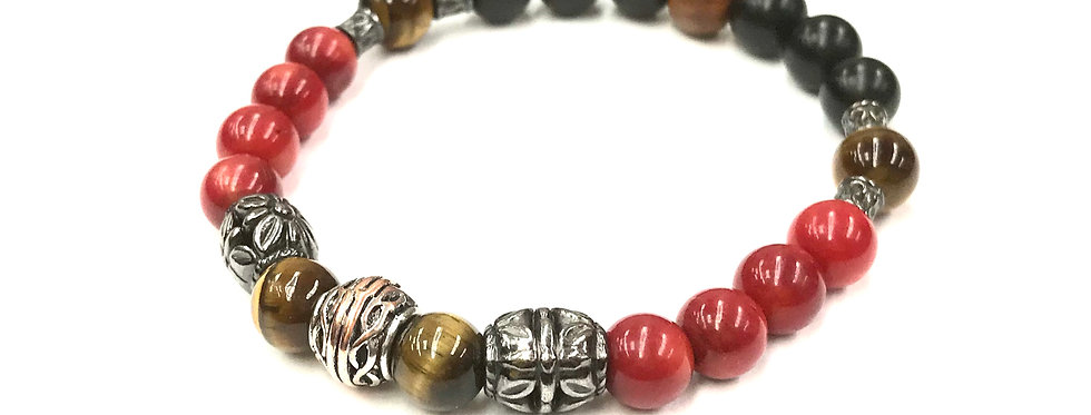 Shayne Men's Yogi Stack Bracelet
