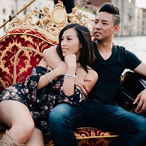 Photo shooting in Venice for dear Jen & Peter