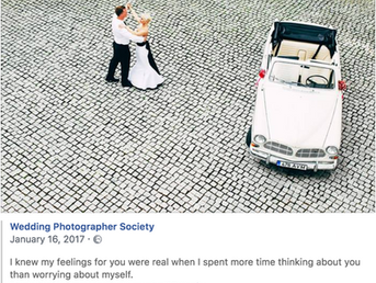 Wedding Photographer Society Editor top choise.   -I knew my feelings for you were real when I spent