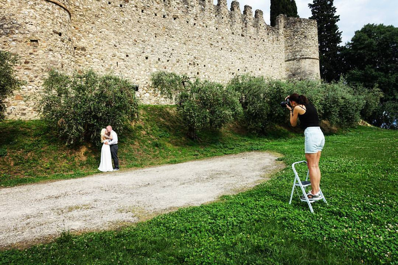 I'm so happy! 🤗 Finally wedding season is open also for me in Italy 💞🎉 📷   #wedding #italy #