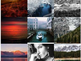 Instagram 9 best photographs in 2017