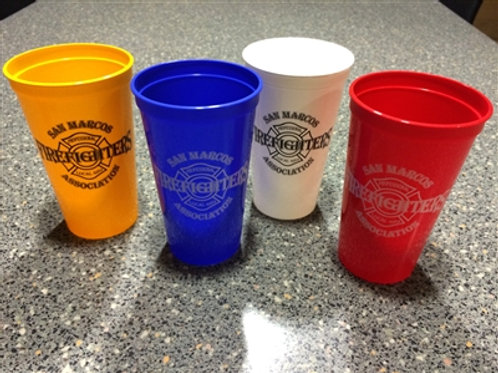 SMPFFA Plastic Drink Cup