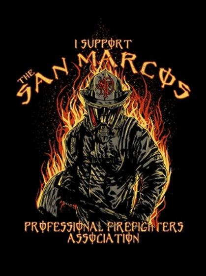 """I Support"" Firefighter T-Shirt"