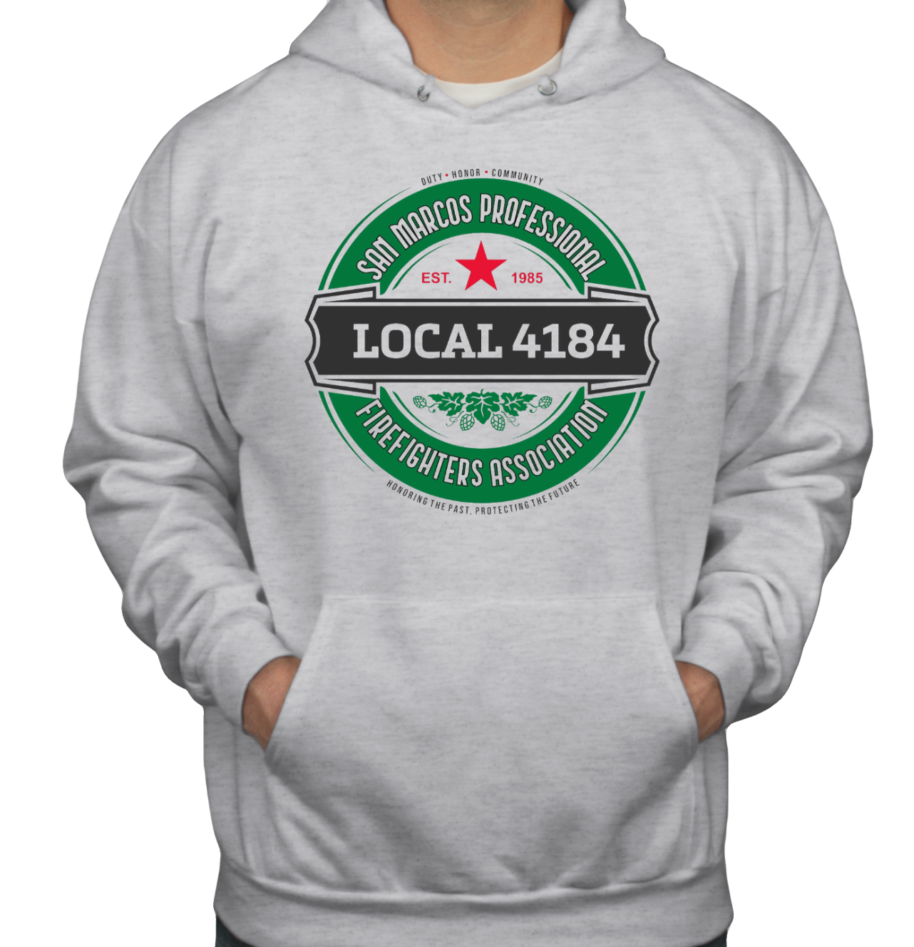 Hoodie #1 front