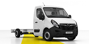 Opel Movano podvozek L3H1 nasedniajed.cz