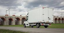 Opel Movano - nástavba hliníková skříň