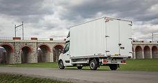 Opel Movano - nástavba hliníková skříň n