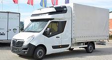 Opel Movano - prodloužené spaní