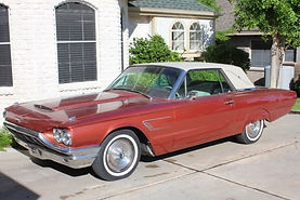 1965 Thunderbird T-Bird film video production