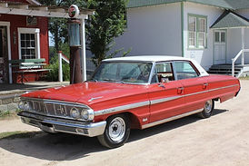 1964 Ford Galaxie film set dressing event rental