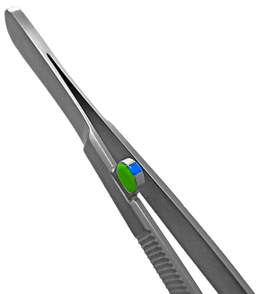 Instrumento cirúrgico com tag UHF RFID Identhis