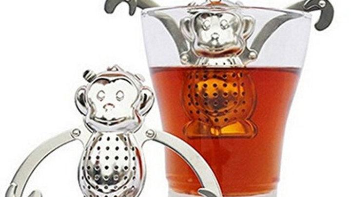 Cute Practical Creative Stainless Steel Infuser Filter Strainer