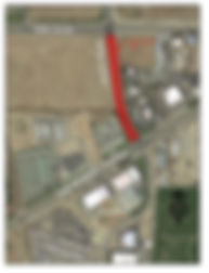 7800 South Airport Road Construction Map