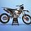 Thumbnail: KTM EXC XCW SX-XC 2014-2016  GREY ORANGE GRAPHIC DECAL STICKER KIT