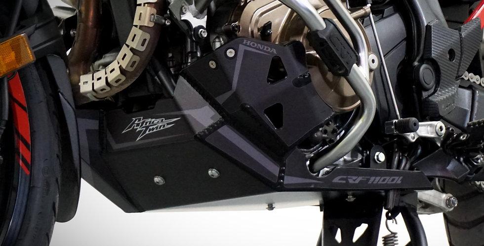 Engine Guard Honda CRF1100L 2020 -21 Africa Twin Bash BLACK