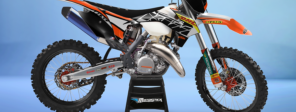 KTM EXC XCW SX-XC 2014-2016  DHL GRAPHIC DECAL STICKER KIT