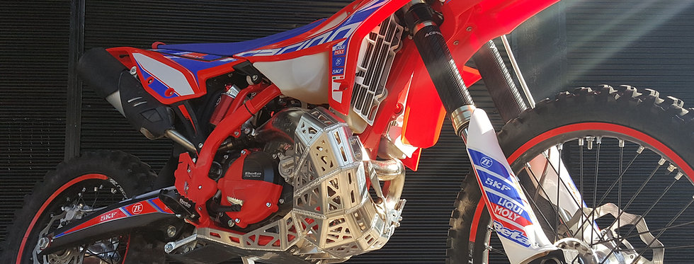 Beta RR-RACING 2020-2022 Models Skid Plate With Pipe Guard