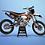 Thumbnail: KTM EXC XCW SX-XC 2014-2016  ORANGE GREY GRAPHIC DECAL STICKER KIT