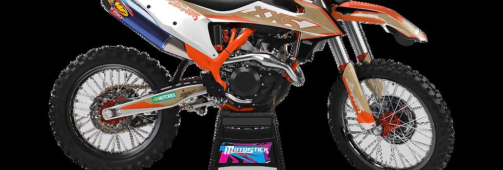 KTM EXC XCW SX-XC 2020-2022 XX5 ERZBERG GRAPHIC DECAL STICKER KIT