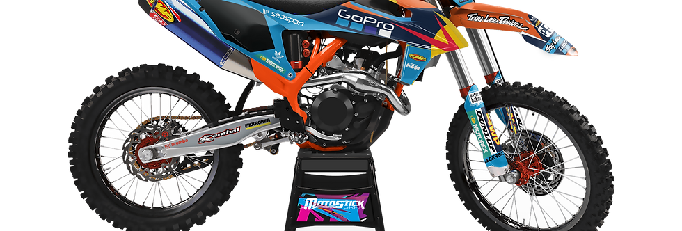 KTM EXC XCW SX-XC 2020-2022 GO PRO GRAPHIC DECAL STICKER KIT