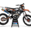 Thumbnail: KTM EXC XCW SX-XC 2017-2019 GREY CUSTOM GRAPHIC DECAL STICKER KIT
