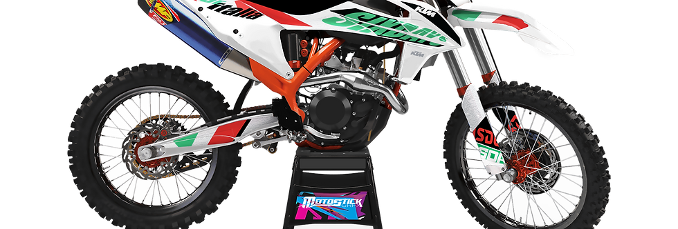 KTM EXC XCW SX-XC 2020-2022 SIXDAYS GRAPHIC DECAL STICKER KIT