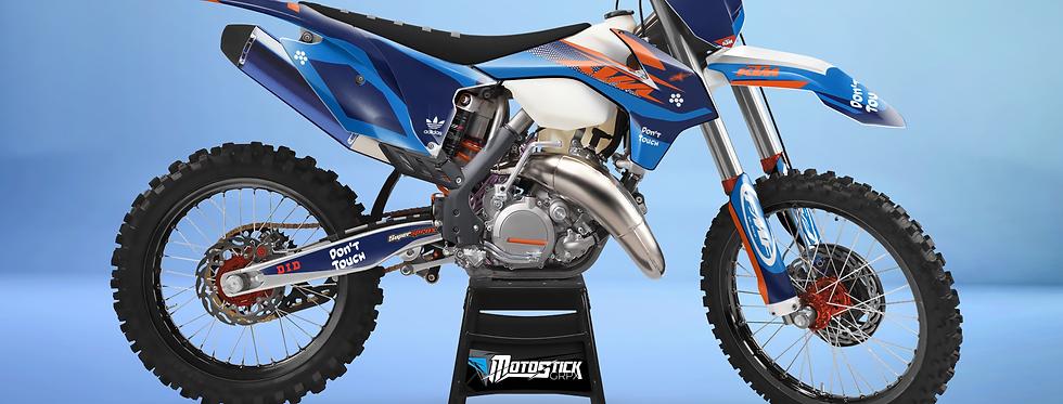 KTM EXC XCW SX-XC 2014-2016  DON'T TOUCH GRAPHIC DECAL STICKER KIT Kopyası