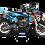 Thumbnail: KTM EXC XCW SX-XC 2017-2019 DARK BLUE FMF CUSTOM GRAPHIC DECAL STICKER KIT