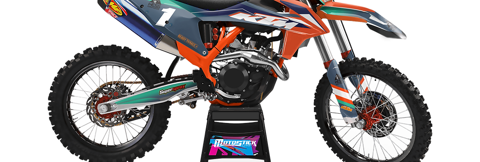KTM EXC XCW SX-XC 2020-2022 GRAPHIC DECAL STICKER KIT WESS EDITION