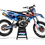 Thumbnail: KTM EXC XCW SX-XC 2017-2019 BLUE FMF GRAPHIC DECAL STICKER KIT